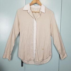 J.Crew stripes button down shirt size 4 -C4